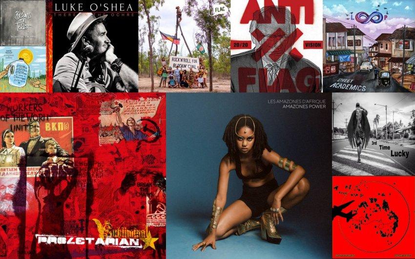 10 new political albums january 2020 album artwork