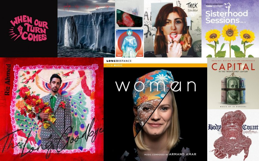 March 2020 political albums artwork