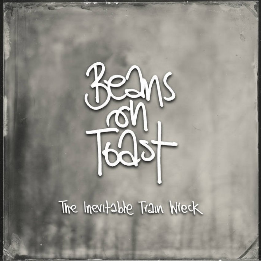 BEANS ON TOAST - THE INEVITABLE TRAIN WRECK album artwork