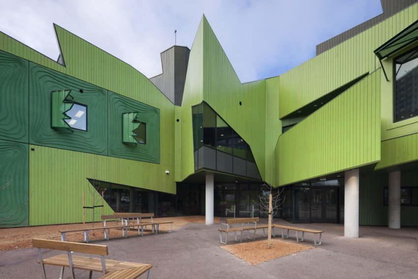 North Melbourne Community Health centre.