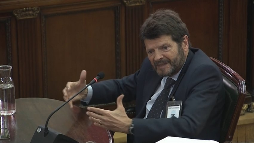 Albert Batlle, former general manager of the Mossos d'Esquadra, testifies