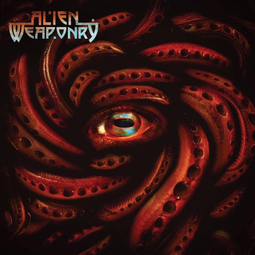 ALIEN WEAPONRY - TANGAROA album artwork