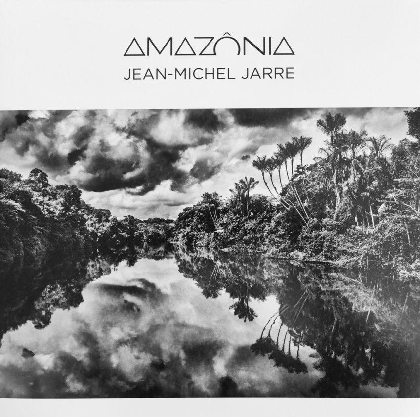 JEAN-MICHEL JARRE — AMAZONIAALBUM ARTWORK