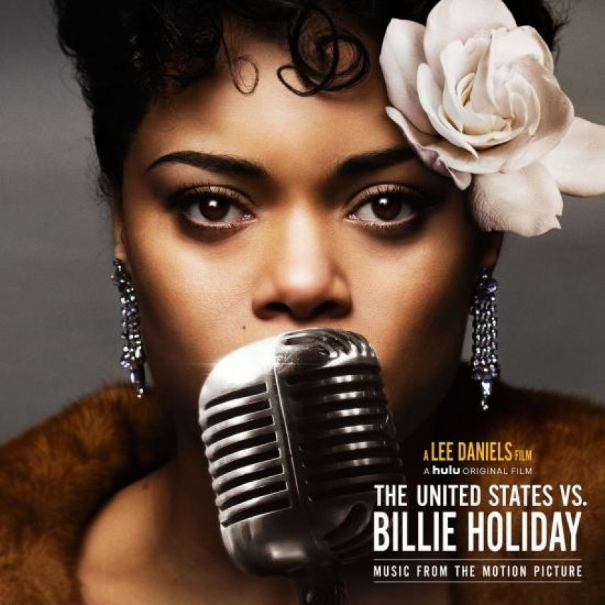 ANDRA DAY - THE UNITED STATES VS. BILLIE HOLIDAY (MUSIC FROM THE MOTION PICTURE) album artwork