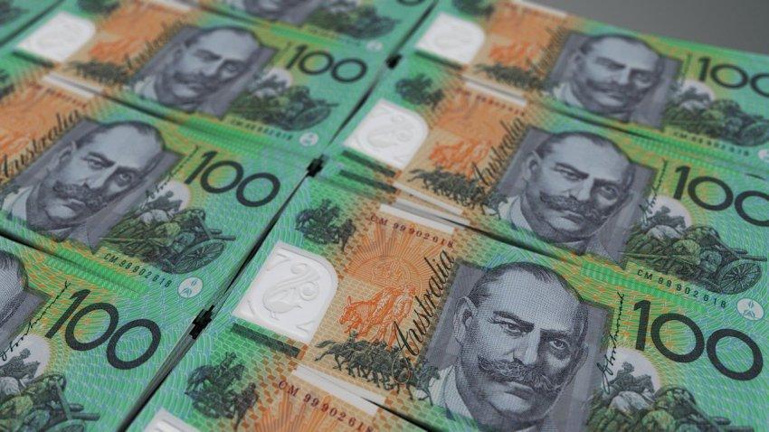 Australian $100 notes