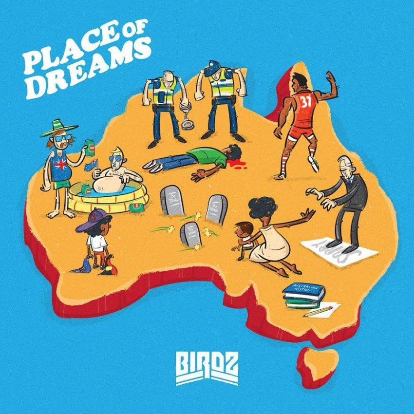 BIRDZ - PLACE OF DREAMS ALBUM ARTWORK