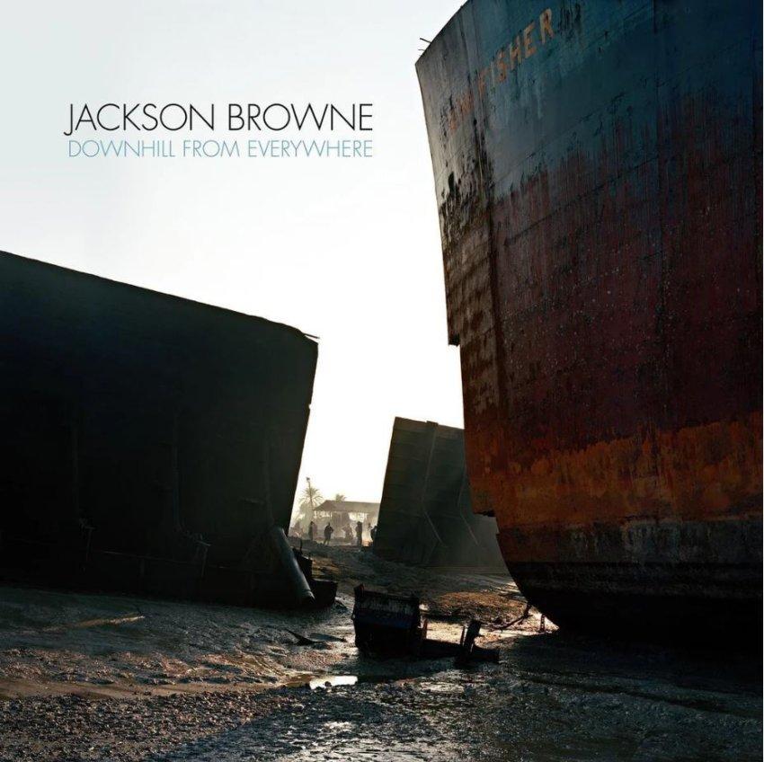 album artwork JACKSON BROWNE - DOWNHILL FROM EVERYWHERE
