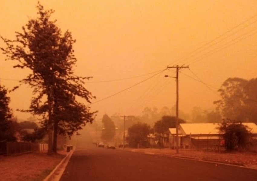 The small New South Wales town of Cobargo was devastated by bushfires around New Year's Day.