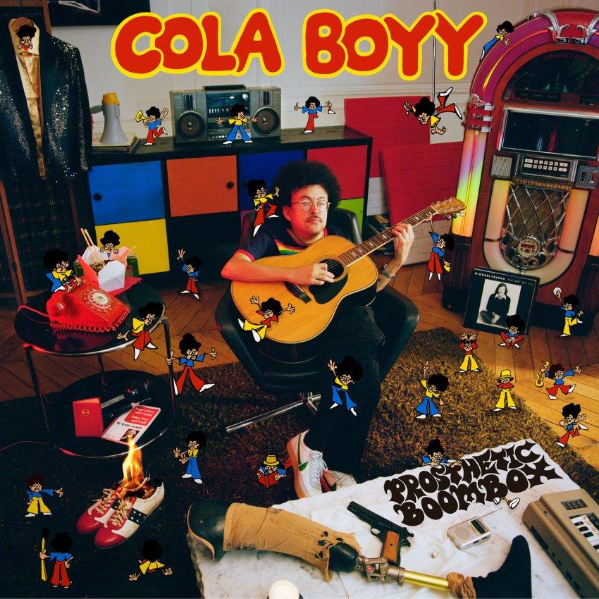 COLA BOYY - PROSTHETIC BOOMBOX album artwork
