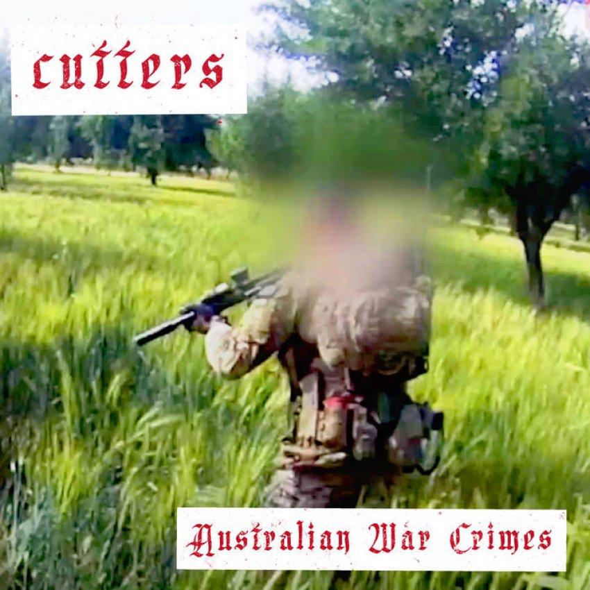CUTTERS - AUSTRALIAN WAR CRIMES album artwork