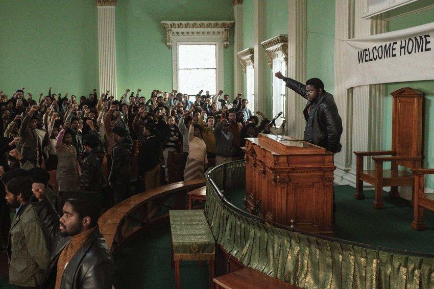Daniel Kaluuya burning up the screen as Fred Hampton in Judas and the Black Messiah
