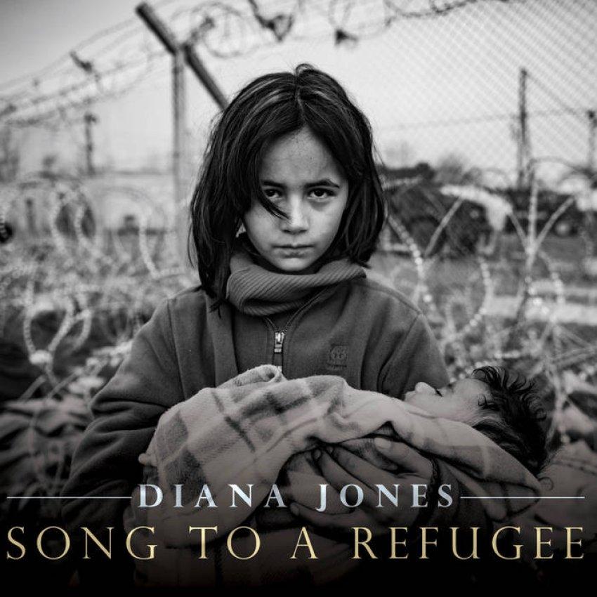 DIANA JONES - SONG TO A REFUGEE album artwork