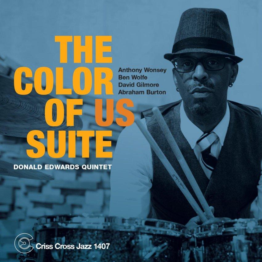 DONALD EDWARDS QUINTET - THE COLOR OF US SUITE album artwork