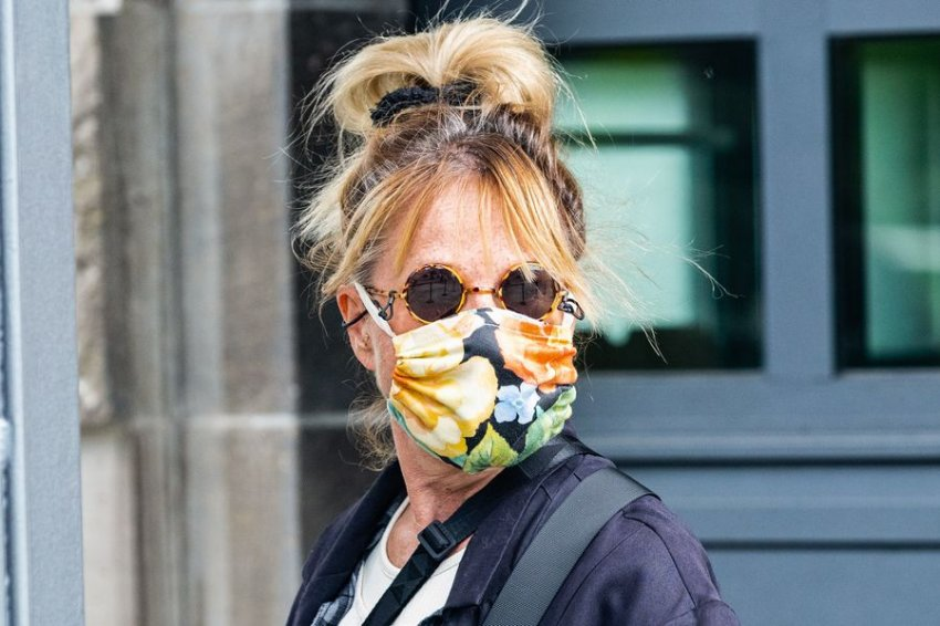 A woman wearing a face mask is seen in Berlin, capital of Germany, May 28, 2020. (Credit: Binh Truong | Xinhua)