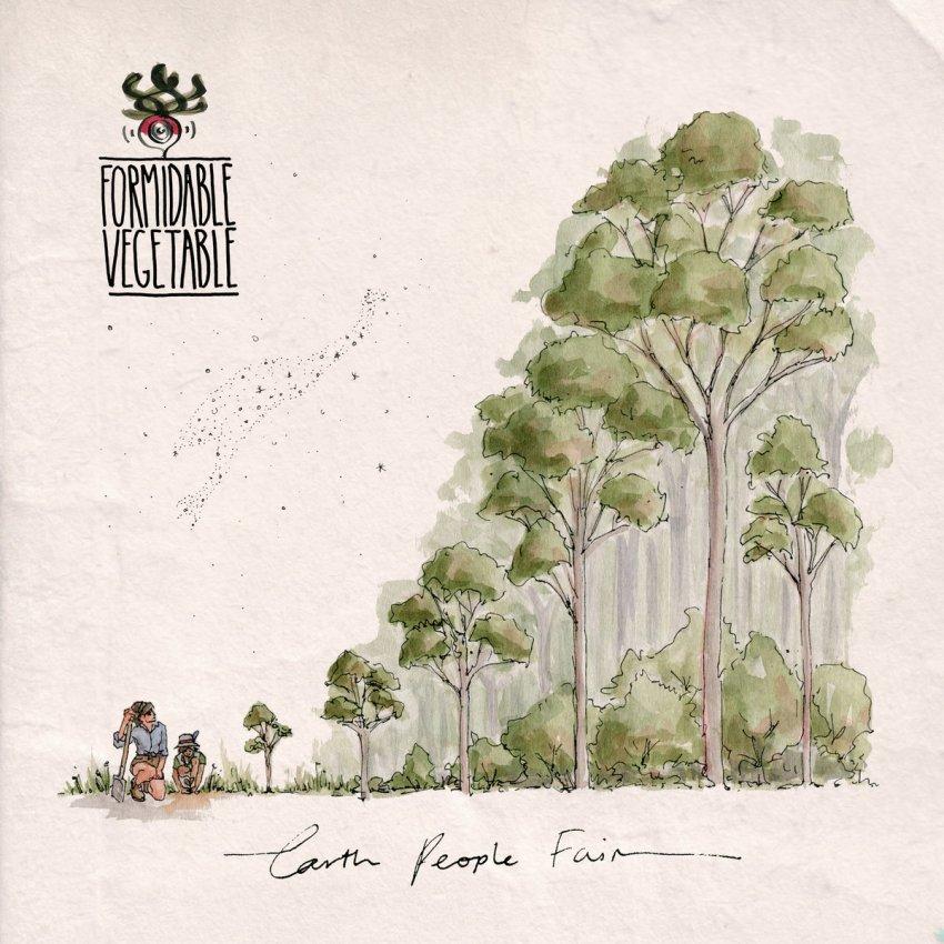 FORMIDABLE VEGETABLE - EARTH PEOPLE FAIR album artwork