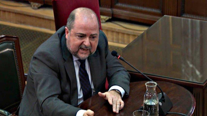 Francisco Juan Fuentes, former distribution manager at Unipost, giving evidence