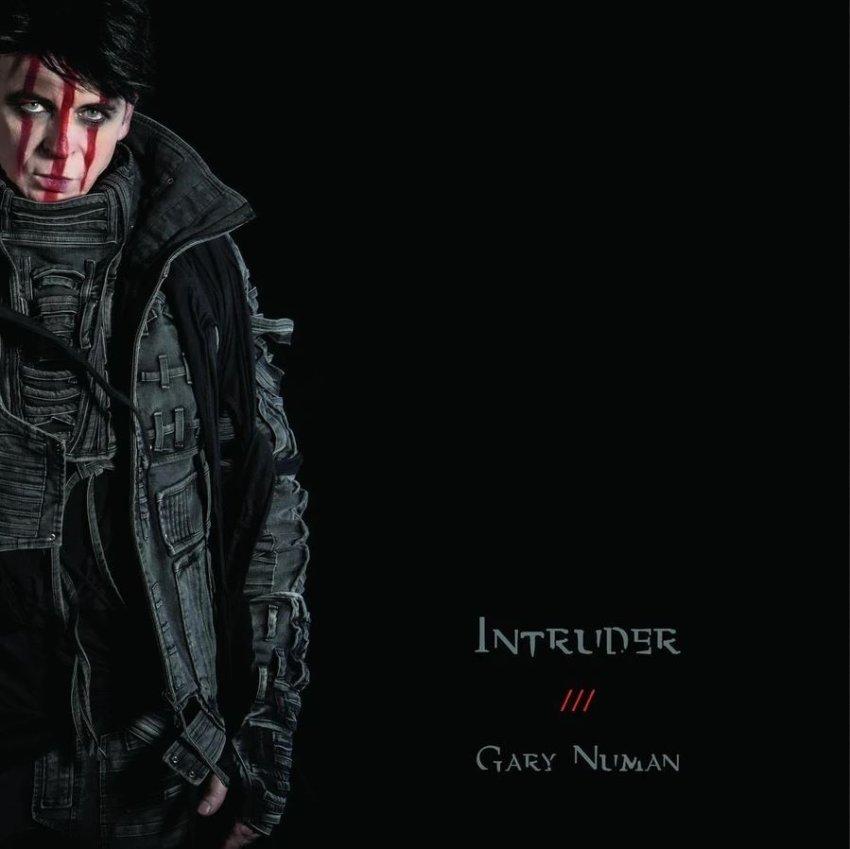 GARY NUMAN - INTRUDER ALBUM ARTWORK