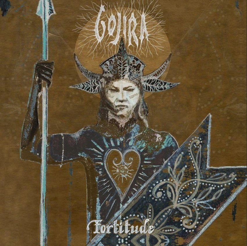 GOJIRA - FORTITUDE album artwork
