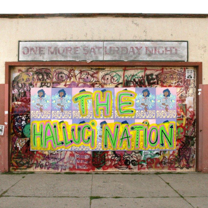 THE HALLUCI NATION - ONE MORE SATURDAY NIGHT album artwork