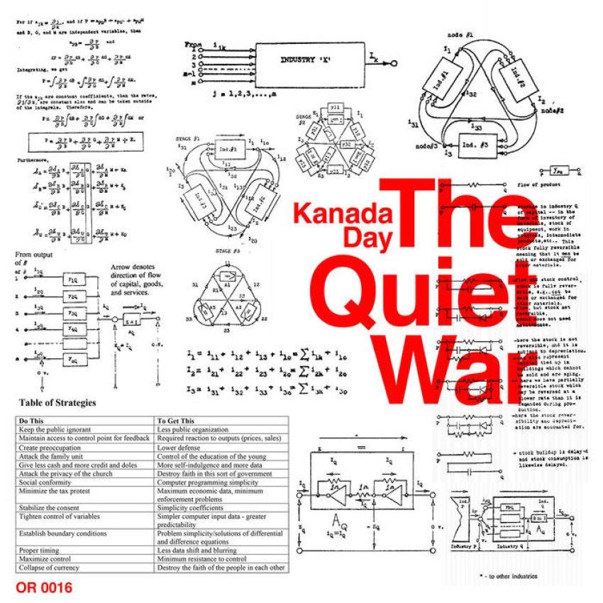 KANADA DAY - THE QUIET WAR album artwork