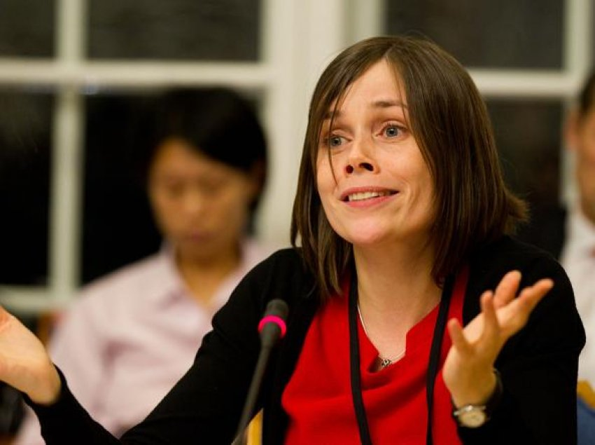Iceland's prime minister Katrín Jakobsdottir, of the Left-Green Movement (Credit: Corriere della Sera)