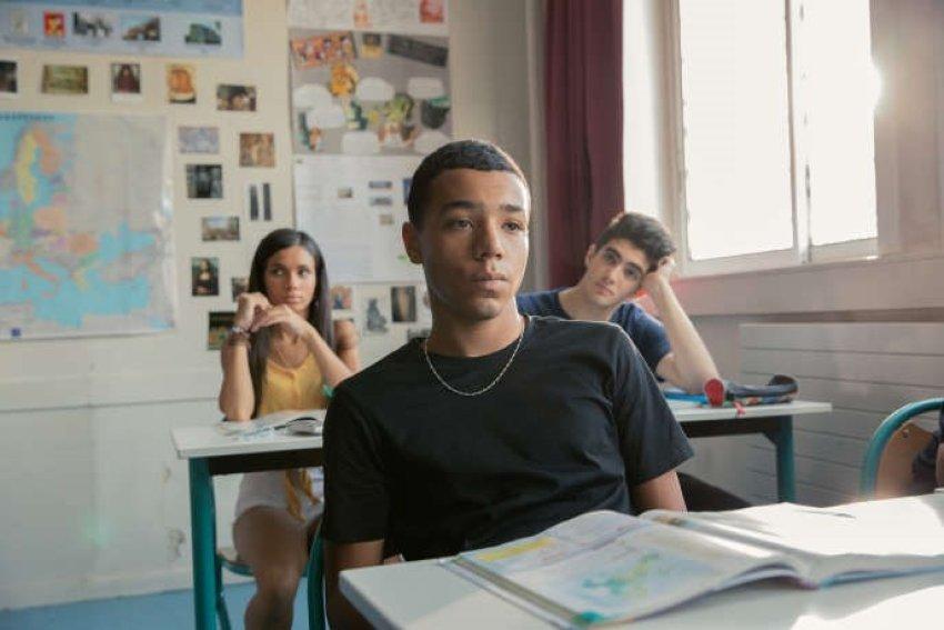 Liam Pierron as a troubled student in La Vie Scolaire