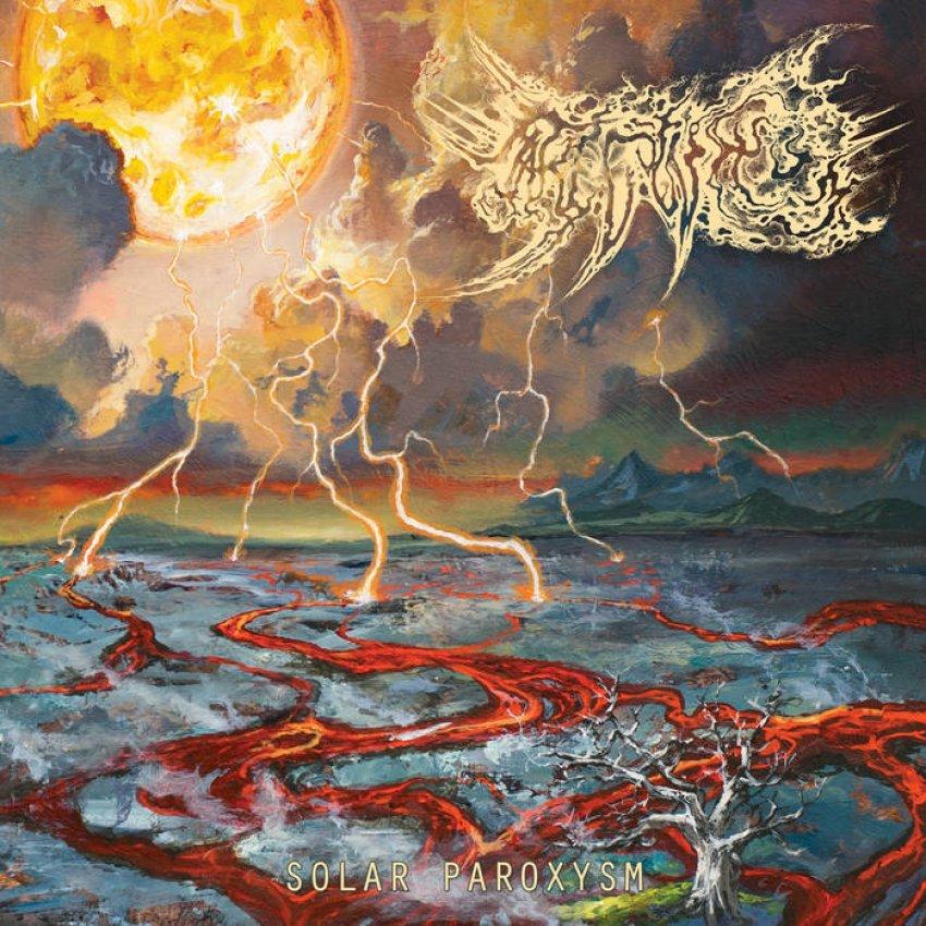 MARE COGNITUM — SOLAR PAROXYSM ALBUM ARTWORK