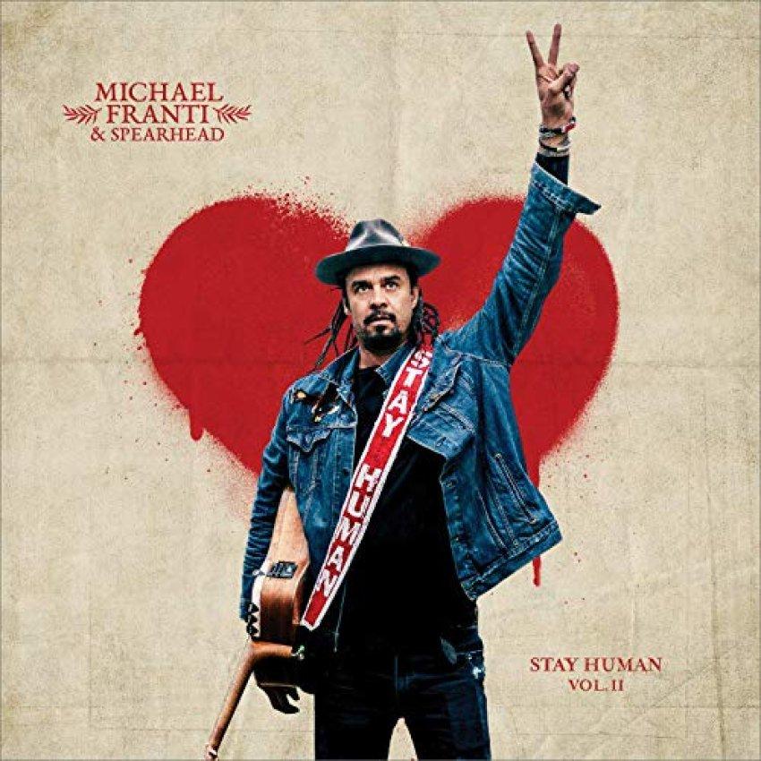 MICHAEL FRANTI SPEARHEAD - STAY HUMAN album artwork