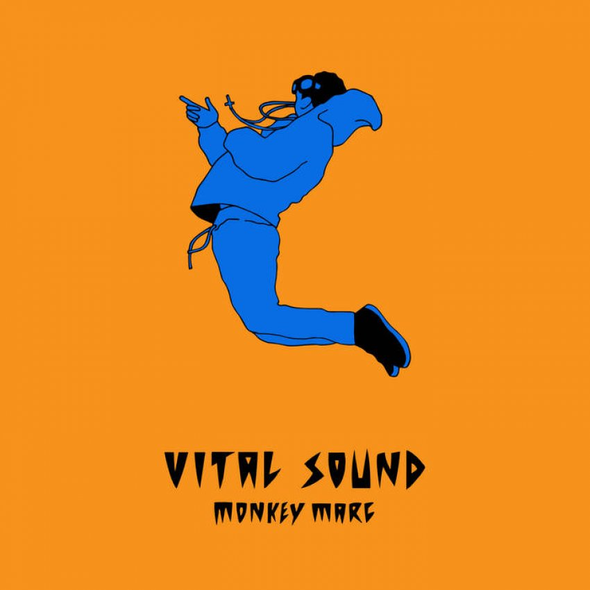 MONKEY MARC - VITAL SOUND album artwork