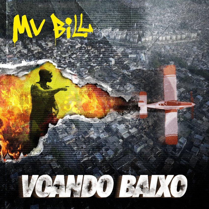 MV BILL - VOANDO BAIXO ALBUM ARTWORK