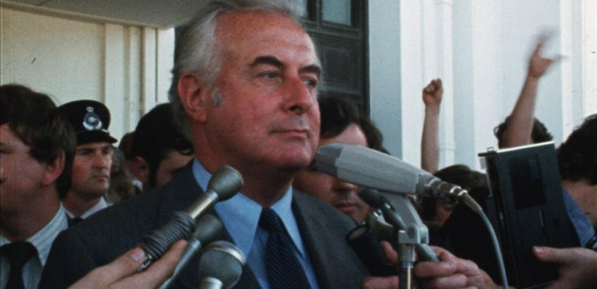 Gough Whitlam.