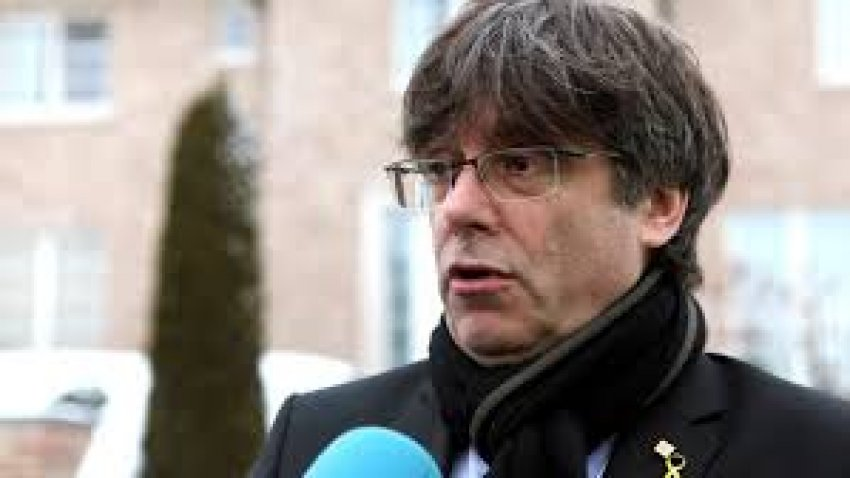 Carles Puigdemont: a Madrid court has overruled the Spanish Electional Board's ban on his standing in the May 26 European election