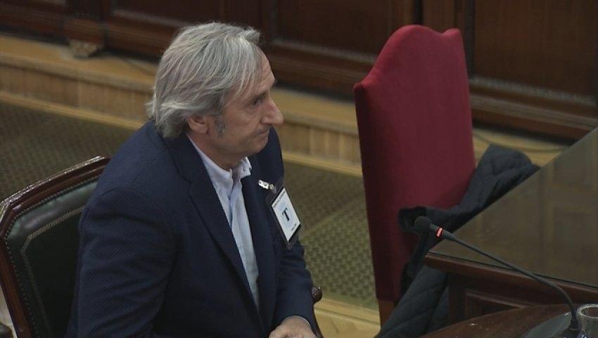 Rafael Ramírez, former worker at Unipost, giving evidence
