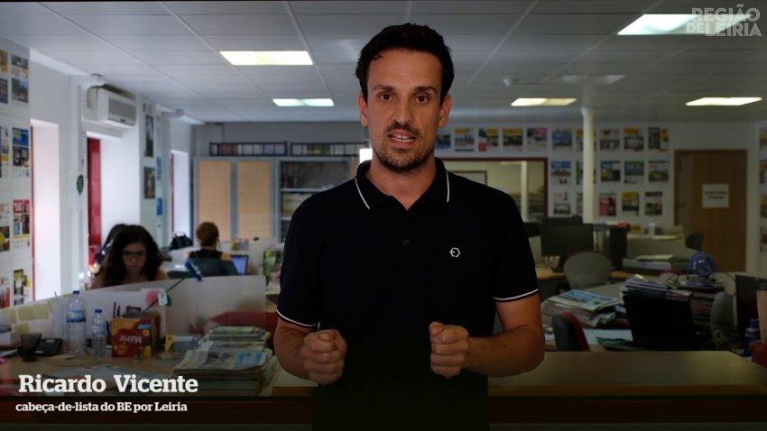 Ricardo Vicente, Left Bloc MP for Leiria region (Credit: Left Bloc)
