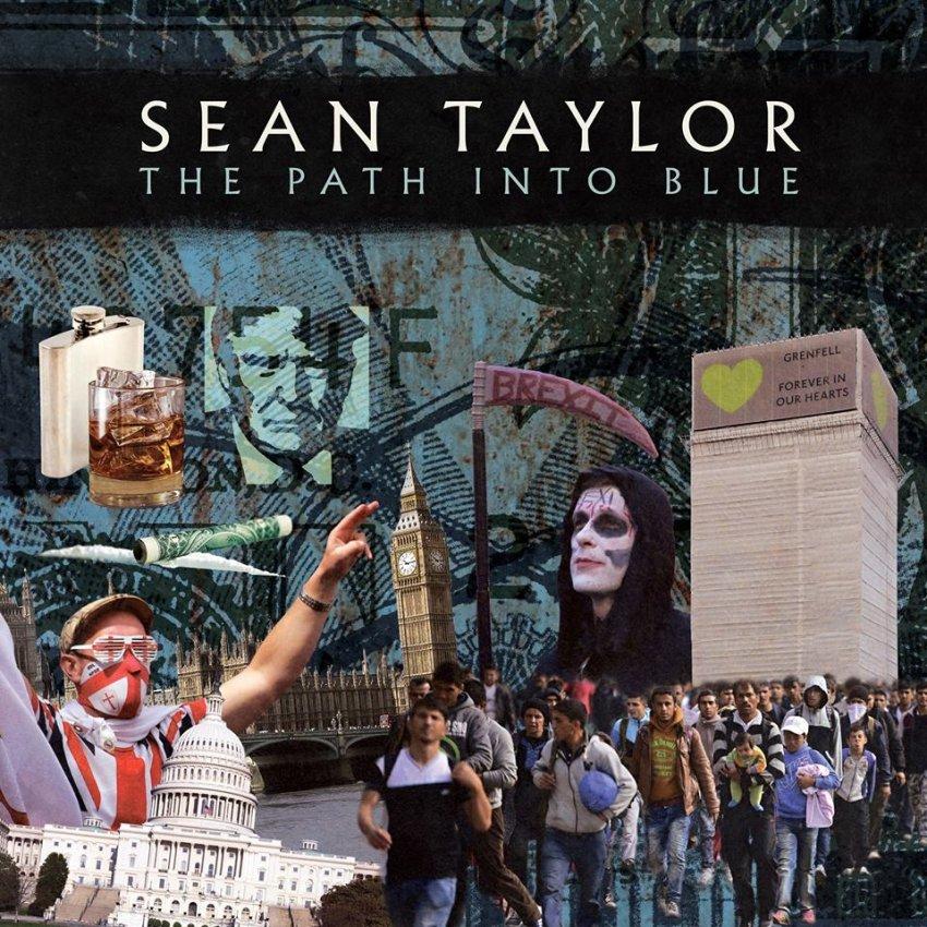 SEAN TAYLOR - THE PATH INTO BLUE album artwork