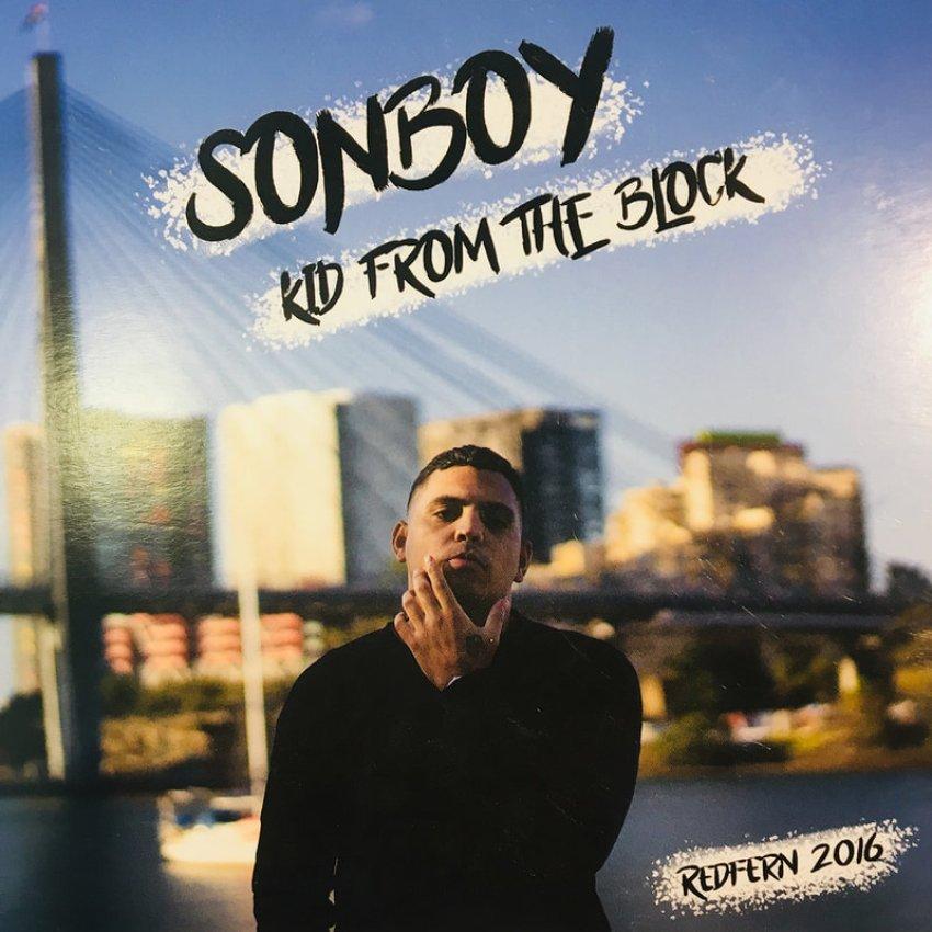 SONBOY - KID FROM THE BLOCK album artwork