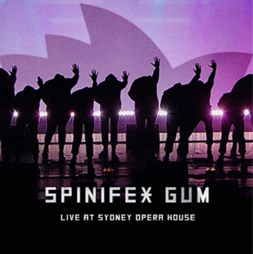 SPINIFEX GUM - LIVE AT SYDNEY OPERA HOUSEalbum artwork