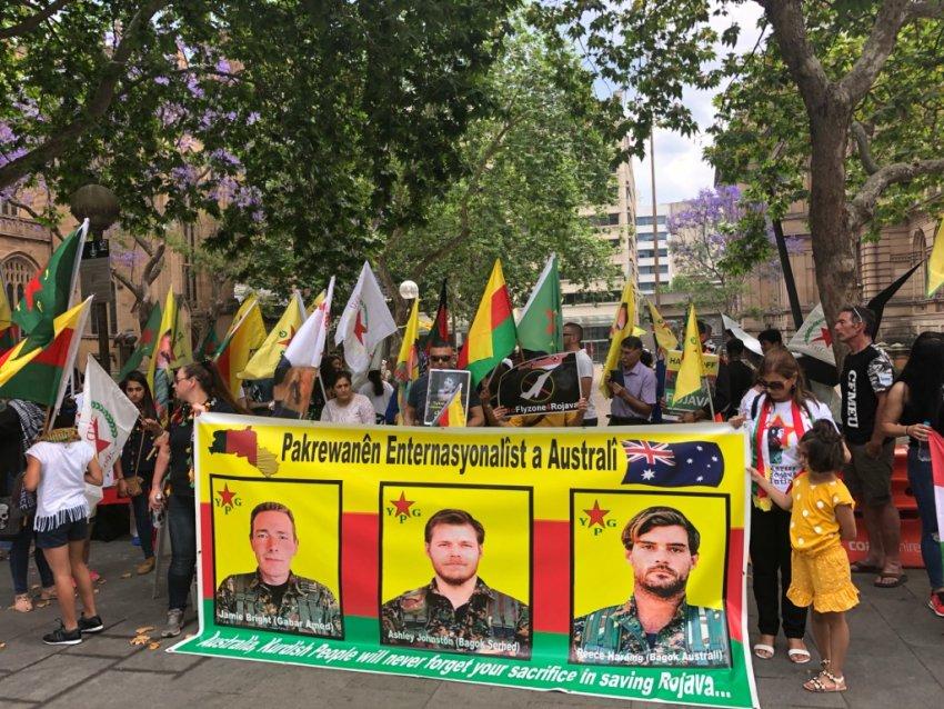 World Resistance Day for Rojava, Sydney, November 3.