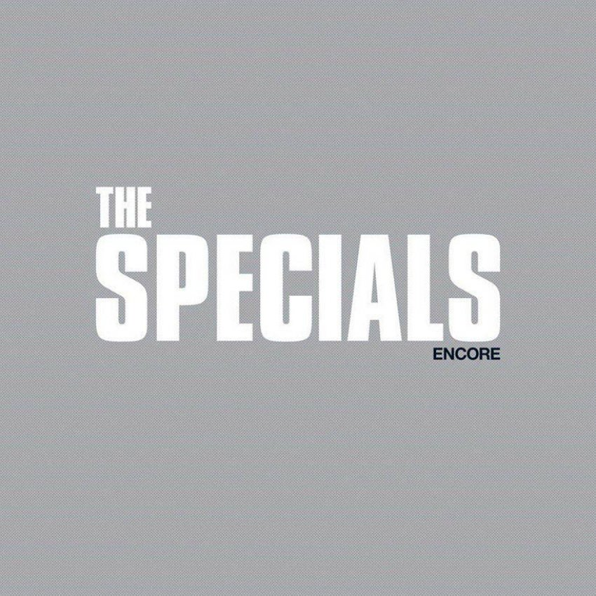 THE SPECIALS - ENCORE album artwork
