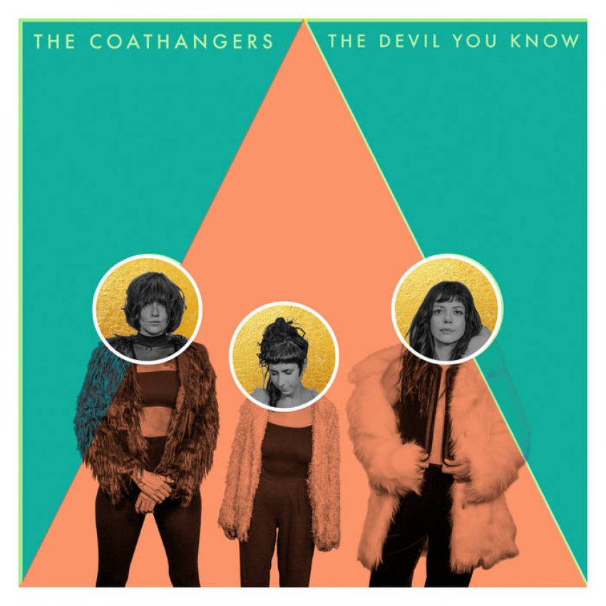 THE COATHANGERS - THE DEVIL YOU KNOW album artwork