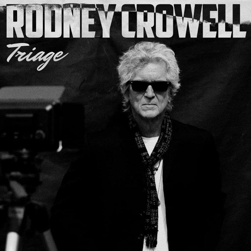 RODNEY CROWELL - TRIAGE album artwork
