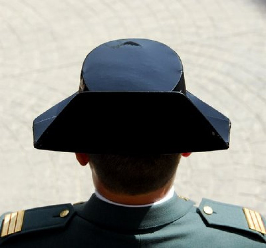 Civil Guard agents gave their evidence anonymously
