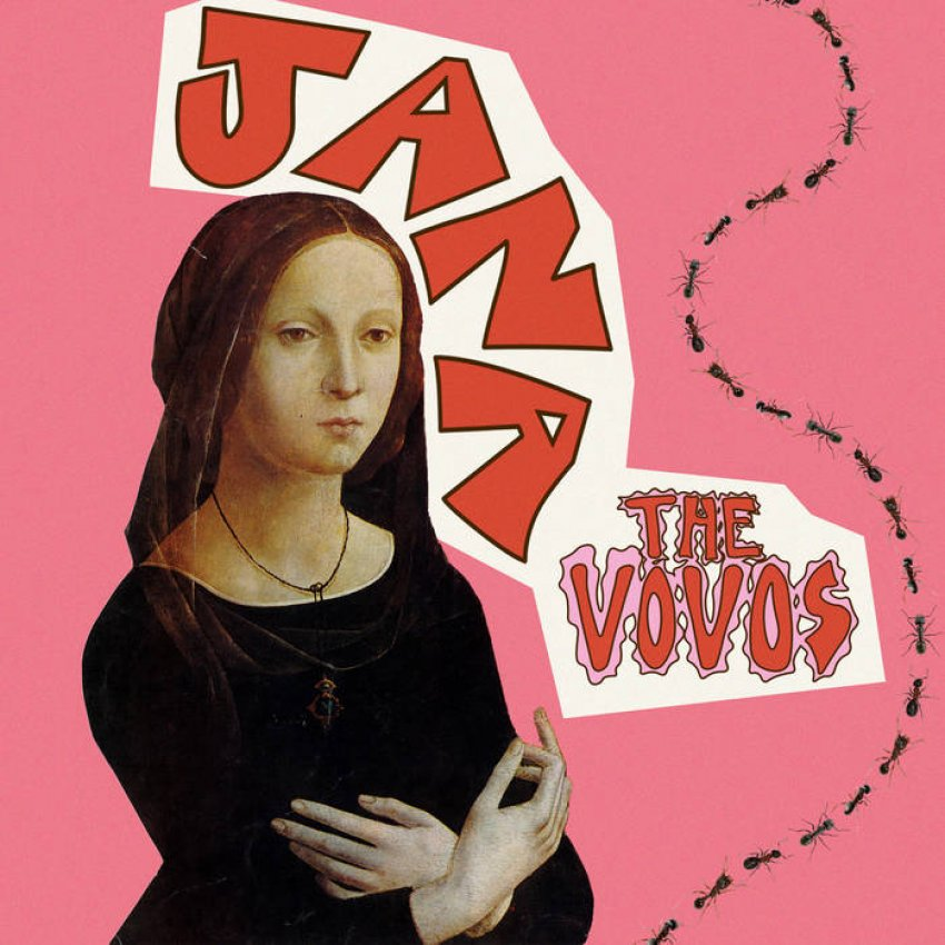 THE VOVOS - JANA album artwork