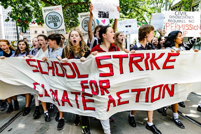 List of school climate strikes