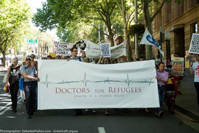 Doctors 4 Refugees banner