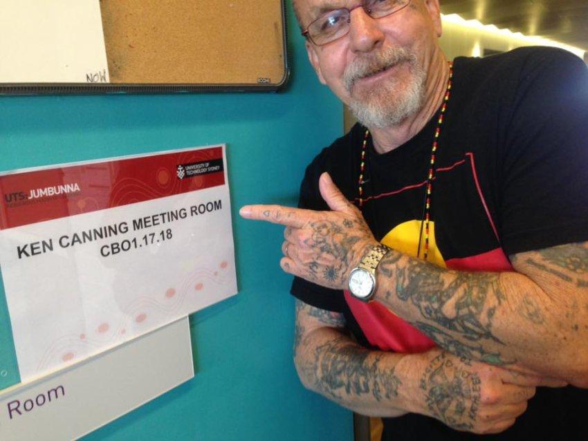 Ken Canning at UTS