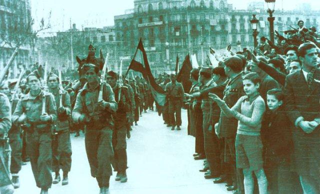January 26, 1939: Francoist troops enter Barcelona