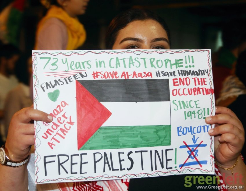 73 years of oppression and resistance