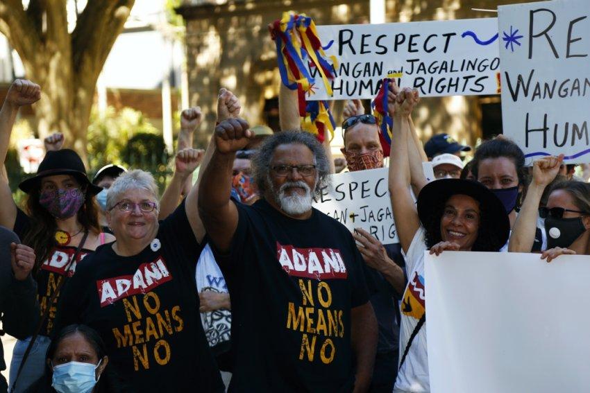 Respect Wangan and Jagalingou human rights