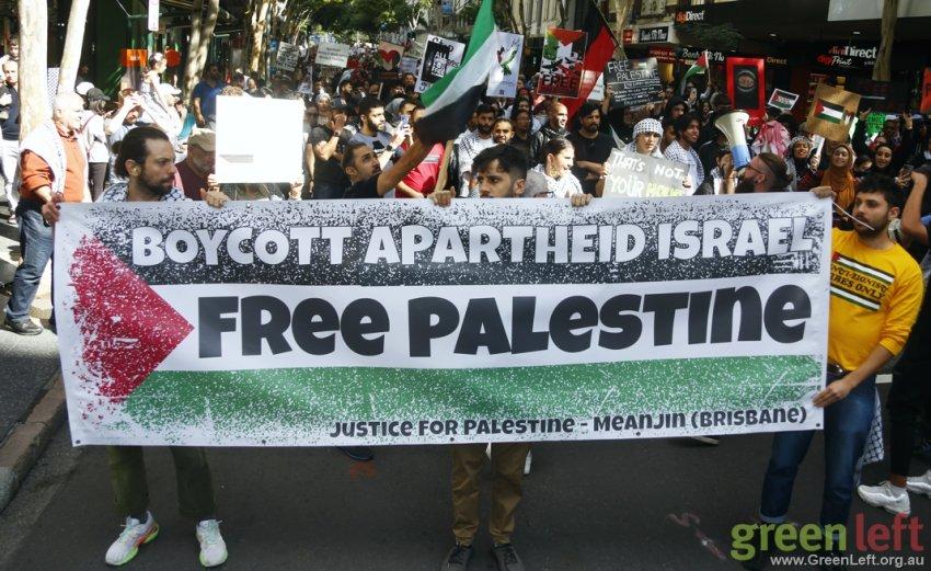Boycott Apartheid Israel, Brisbane